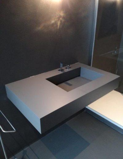 Chelli - Progetti realizzati - Arredo Bagno in resina