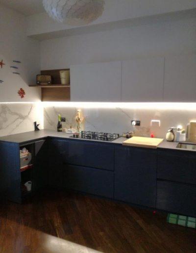 Chelli - Progetti realizzati - Rivestimento Cucina