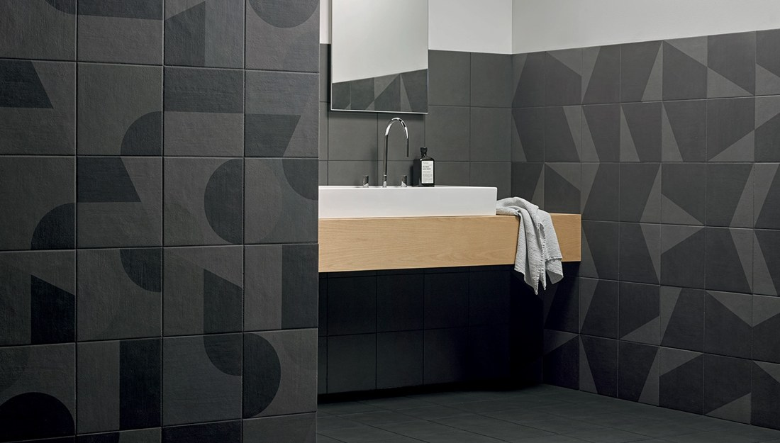 Ceramiche Mutina Puzzle - Skye Slate Edge Slate
