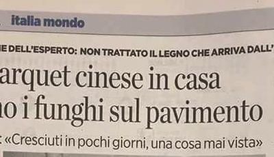 Parquet Cinese o Made in Italy? I consigli di Alfredo Chelli