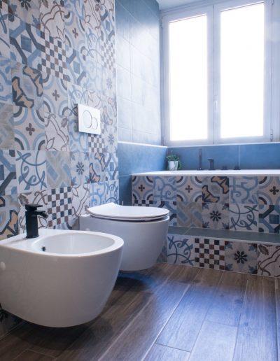 Chelli - Progetti realizzati - cementine bagno