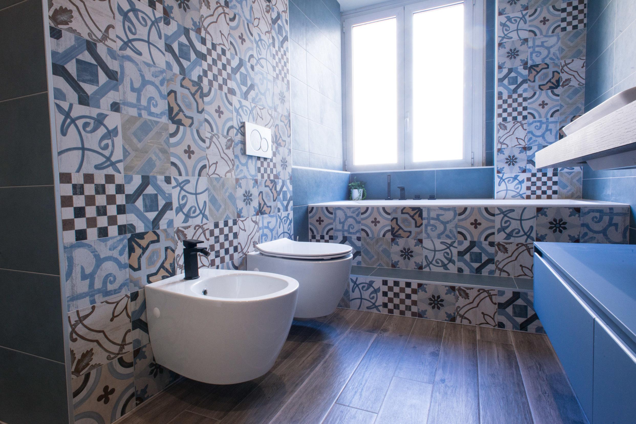 Chelli progetti realizzati cementine bagno chelli - Cementine bagno ...