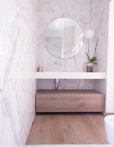 Chelli - Progetti realizzati - gres effetto marmo