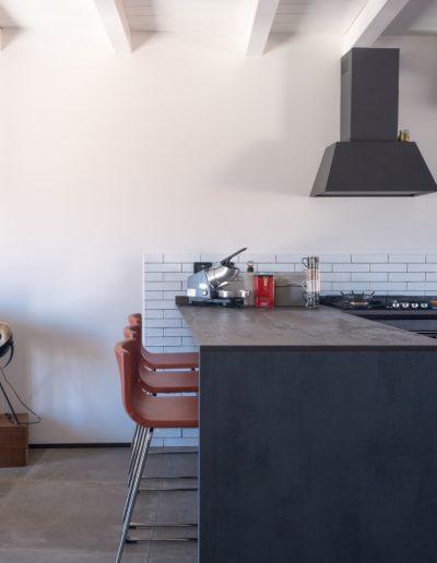 Chelli - Progetti Realizzati - Cucina Ceramica rivestimento majolica
