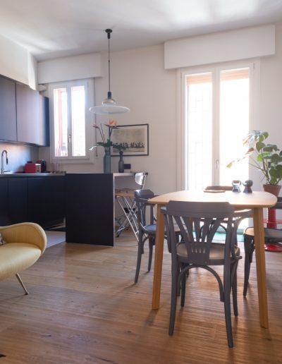 Chelli - Progetti Realizzati - Cucina Parquet Piallato