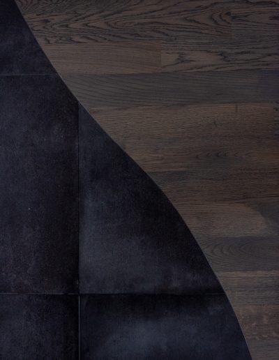 Chelli - Progetti Realizzati - Dettaglio Intarsio Legno Ceramica
